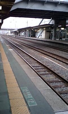 電車の旅中