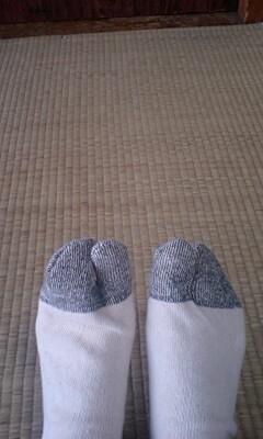 2本指靴下